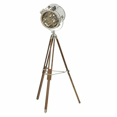 NEW Amalfi Industrial Hollywood Tripod Floor Lamp