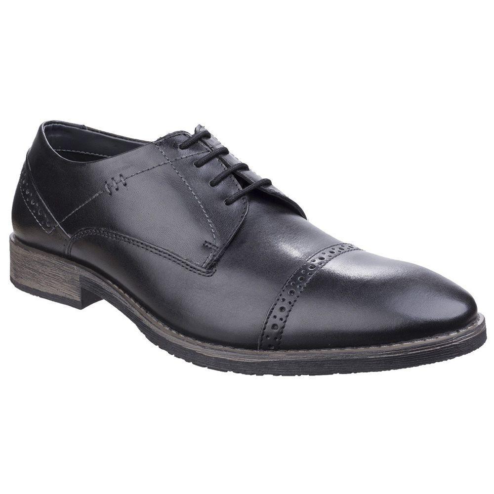 Hush Puppies Craig Luganda Para Hombre Zapato Negro