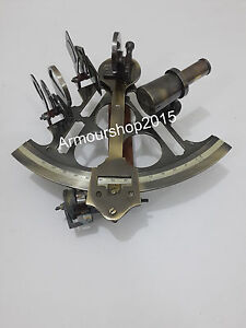 Nautical Sextant Antique vintage Sextant Marine Navigation Working