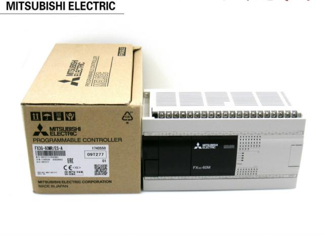 1PC NEW MITSUBISHI FX3G-60MR/ES-A PLC NEW IN BOX #RS8