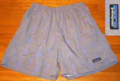 VINTAGE PATAGONIA Baggies Shorts High Rise Palm Pr