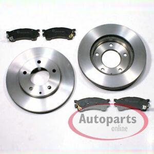 Mazda-Premacy-CP-Bremsscheiben-Bremsen-Bremsbelaege-fuer-vorne-die-Vorderachse