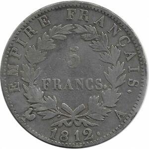 FRANCE-5-FRANCS-NAPOLEON-1-er-1812-A-TB