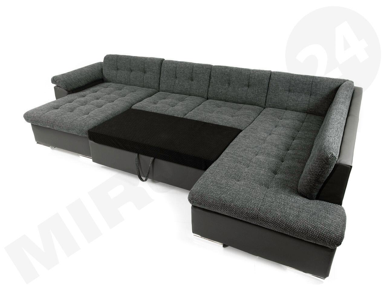 Large Corner Sofa Nicole! eckcouch sofa with sleeping function ...