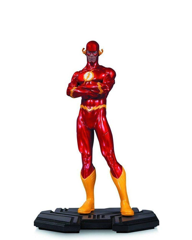 Washington, dc comics auch ikonen  die flash - statue (bis 6 - skala)