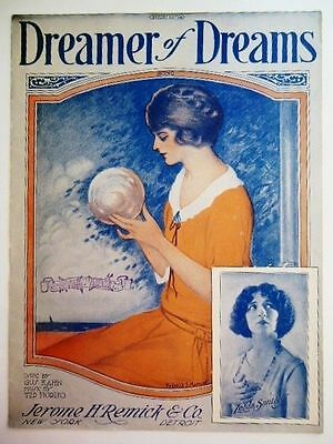 Dreamer of Dreams 1924 Opera Vintage Sheet Music Collector Gus Kahn Ted Fiorito