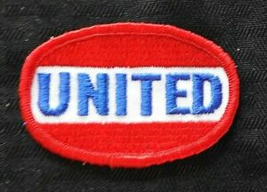 """c.1970 """"UNITED AIRLINES"""" RED WHITE & BLUE UNIFORM PATCH NICE SHAPE"""