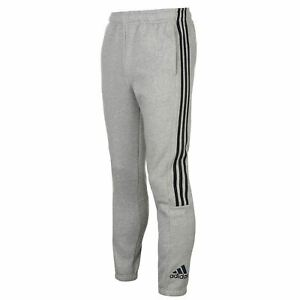Details about adidas Mens 3 Stripe Sweat Pants Fleece Jogging Bottoms  Trousers Print