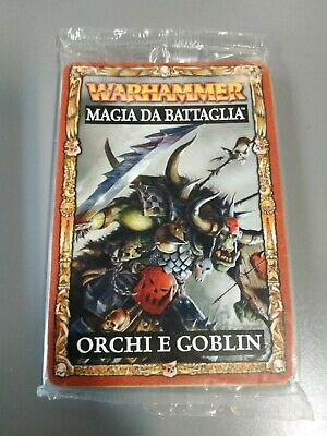 2019 Ultimo Disegno Games Workshop - Warhammer Fantasy - Magia Da Guerra Orchi E Goblin