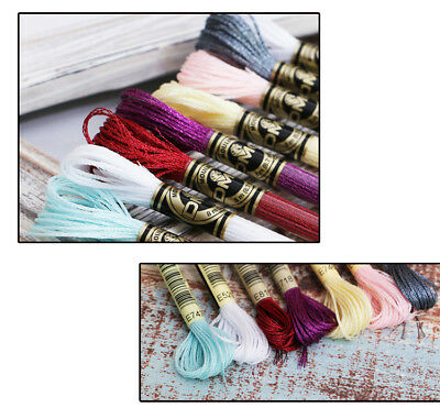 DMC Light Effects Embroidery Floss Color E415 Pewter Antique Effects Art 317