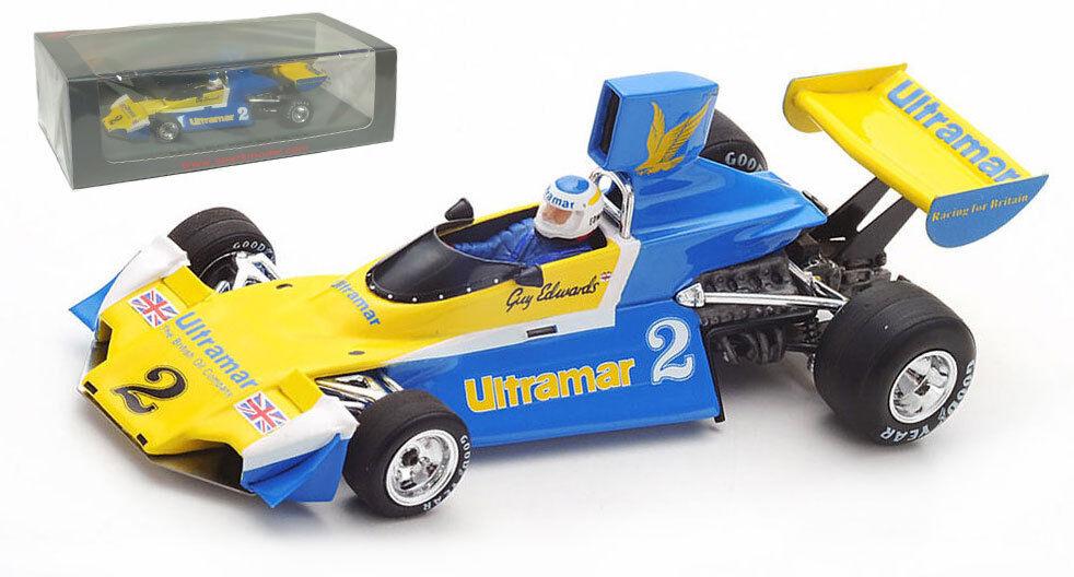 SPARK S7100 Brabham BT42 RAM racing 1st or Cup 1976-Guy Edwards échelle 1 43