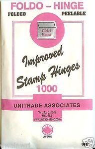 Stamp-Hinges-034-Foldo-Hinge-034-Package-of-1000-Folded-on-SALE