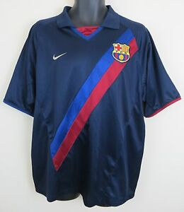 Nike FC Barcelona Football Shirt Barca Camisa FBC Soccer Jersey ... 50428767a5220