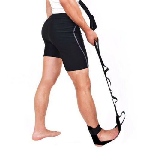 1* Yoga Ligament Stretching Belt Foot Drop Strap Leg Training Foot Ankle Correct