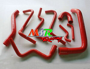 for-Holden-COMMODORE-VT-VX-STATESMAN-WH-Supercharged-3-8L-V6-radiator-hose-red