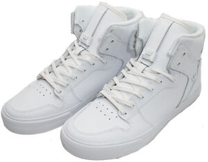 7dce19a00aef Image is loading SUPRA-Men-039-s-VAIDER-Shoes-White-Red-