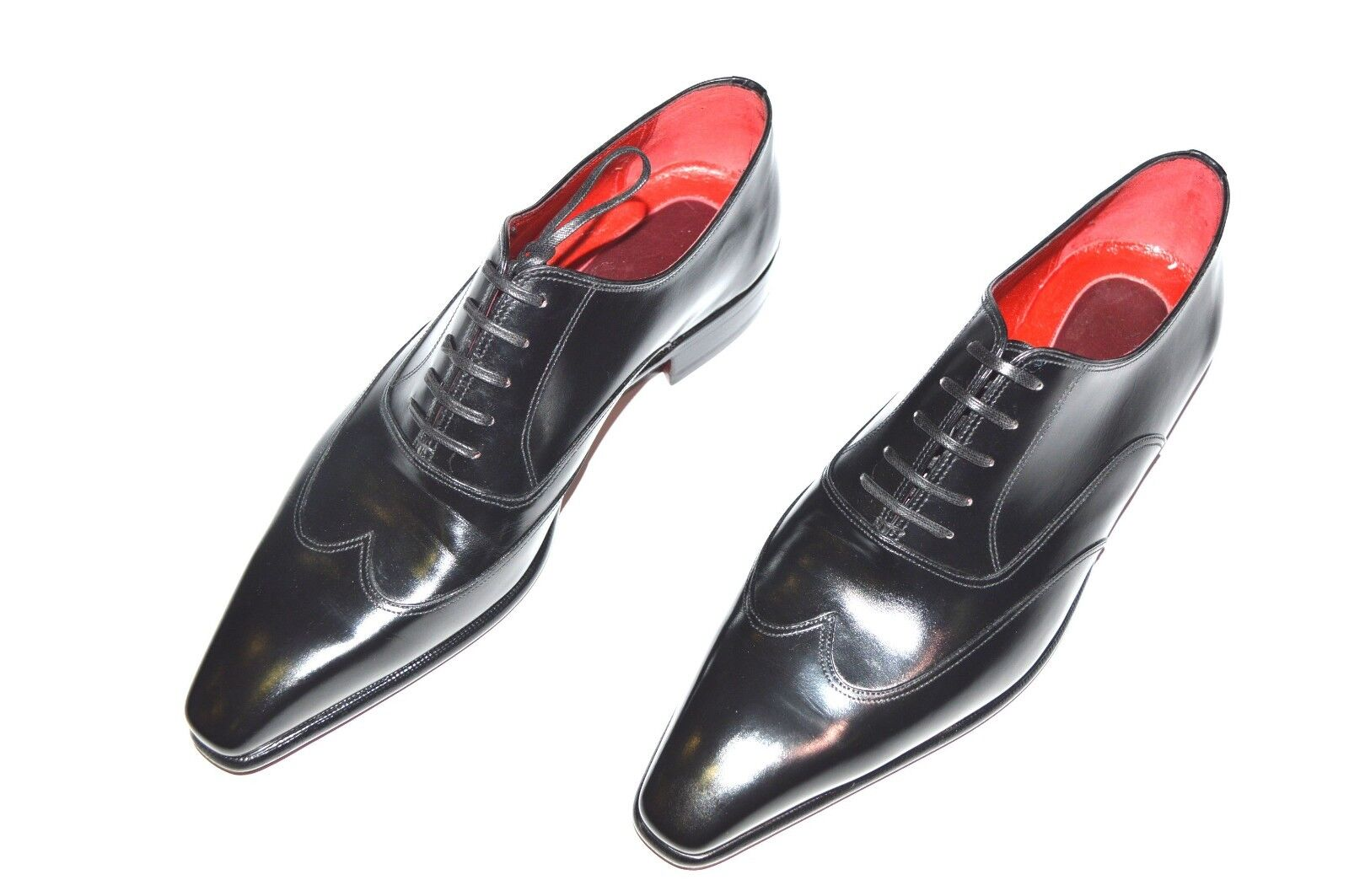 Nuevos Zapatos de piel Stefano Ricci talla nos 9 (COD S324)