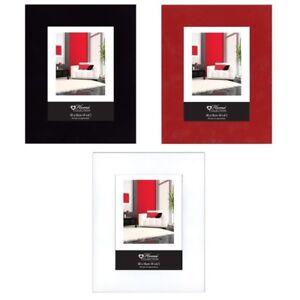rot schwarz oder weiss hochglanz modern foto bilder rahmen ebay. Black Bedroom Furniture Sets. Home Design Ideas