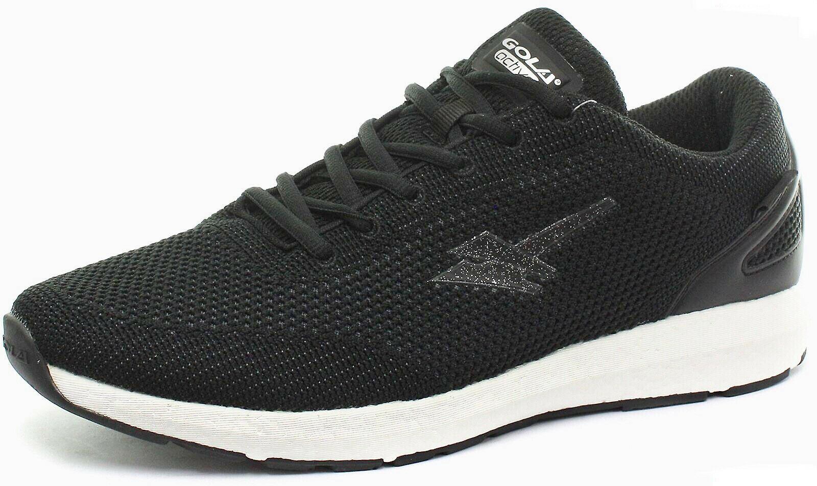 Gola X-Pand Swift Negro Active Unisex Correr Trail Zapatos Resistente al Agua UK12