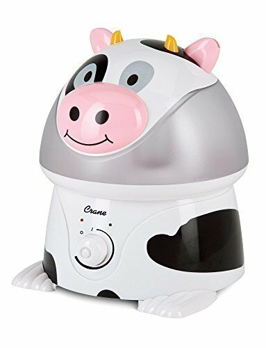 NEW Crane Adorable Ultrasonic Cool Mist Humidifier  Cow FREE SHIPPING