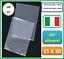 sacchetti bustine in polietilene per cucina alimenti trasparenti neutri 15 x 30