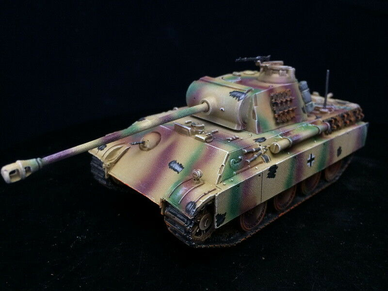 1 56 28mm DPS painted Bolt Action WW2 German PzV G Panther with rust GH1406