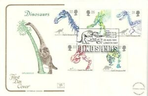 20-AUGUST-1991-DINOSAURS-COTSWOLD-FIRST-DAY-COVER-NATURAL-HISTORY-MUSEUM-SHS