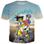 New-Women-Men-Dragon-Ball-Z-Vegeta-Goku-Super-Saiyan-Print-Casual-3D-T-Shirt-Tee thumbnail 22
