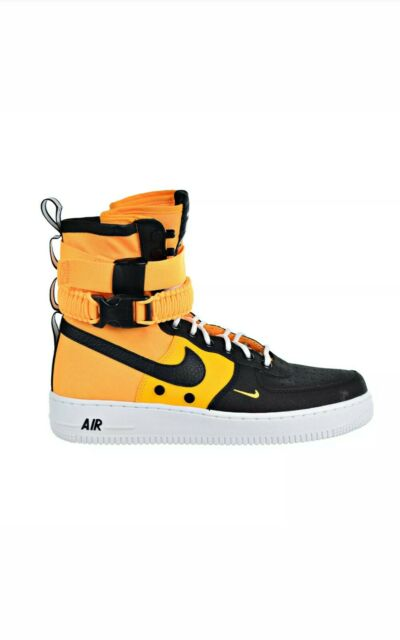 Nike SF Air Force 1 Mens 10 Shoes Basketball Laser Orange