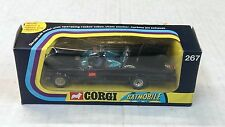 RARE VINTAGE BATMAN BATMOBILE CAR CORGI TOYS #267 METTOY 1973 WINDOW BOX
