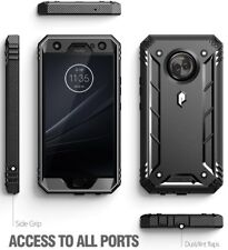 promo code db65e bd8eb Poetic Revolution Full-body Rugged Heavy Duty Case for Motorola Moto X4  Black