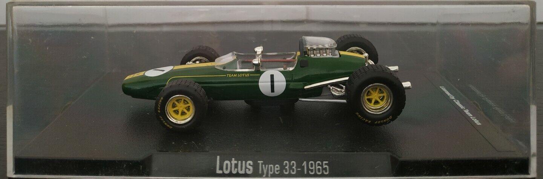 miglior servizio 1 43 LOTUS TYPE 33 1965 Jim Clark F1 F1 F1 FORMULA 1 RBA ESCALA  moda classica