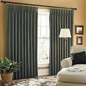 Jcp Linden Street Pinch Pleat Thermal Twill Curtains Pr Ebay