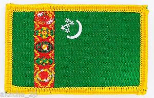 PATCH ECUSSON BRODE DRAPEAU TURKMENISTAN INSIGNE THERMOCOLLANT NEUF FLAG PATCHE Uh5MebeK-09093130-457848112