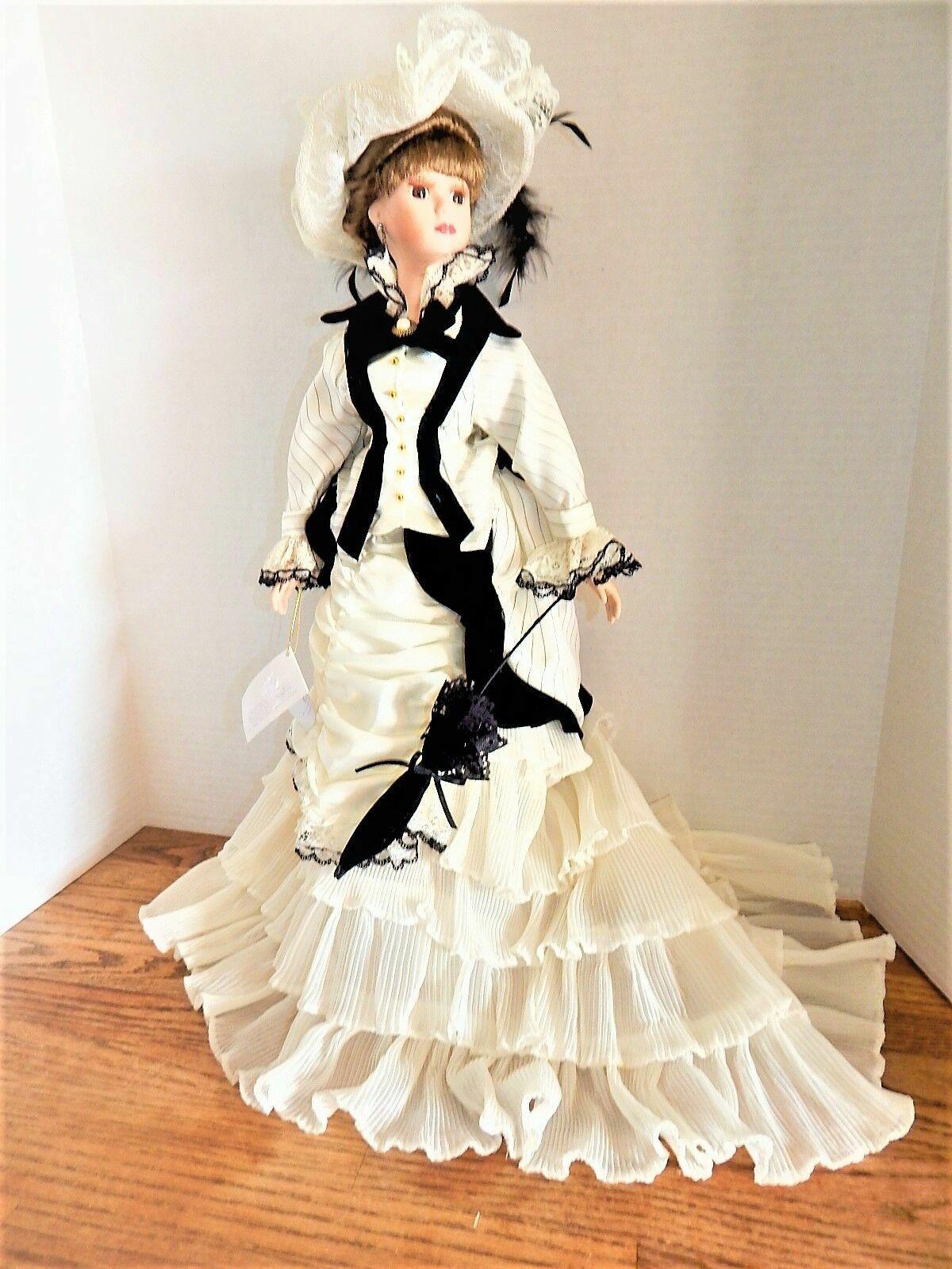 Porcelain bambola Anastasia Collection  22  Eliza VINTAGE 80's nuovo without scatola  perfezionare