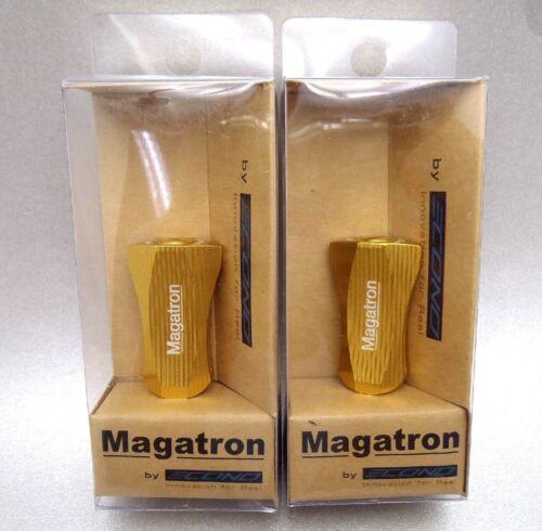 Magatron Aluminium Flat Knob Daiwa Shimano Baitcasting Tuning Reel 1 pair