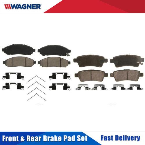 Front+Rear 8PCS Wagner Ceramic Disc Brake Pads Set For NISSAN PATHFINDER 2005-07