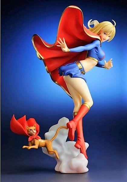 GK Figure SUPERGIRL DC Comics Bishoujo Kotobukiya/ Unassembled kit. BNIB.
