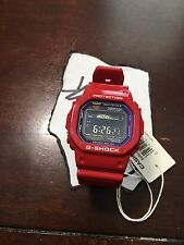 Casio G-Shock GWX5600C-4 Red Watch G-Lide Tough Solar New w/ Tags Limited Rare