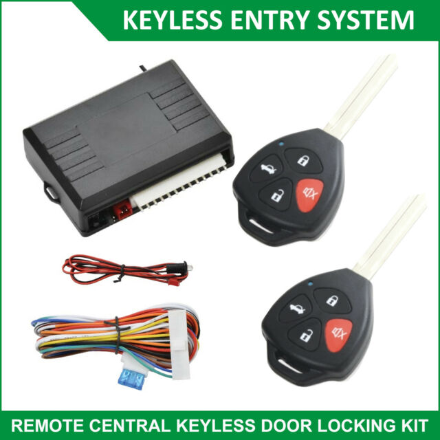 Car Auto Keyless Entry System Remote Control Door Central Lock Locks Locking Kit