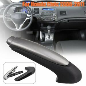 For-Honda-Civic-2006-2011-Hand-Brake-Handle-Protect-Cover-Stick-rq