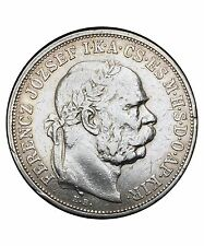 Hongrie 5 Korona Franz Joseph I 1909 argent