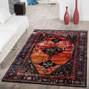 Das Bild Wird Geladen Designer Teppich Orientalische Muster Modern  Wohnzimmer Teppich Mehrfarbig