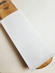 CRICKET-BAT-ANTI-SCUFF-SHEET-HIGH-QUALITY-PROTECTION-CLEAR-TRANSPARENT-38cm