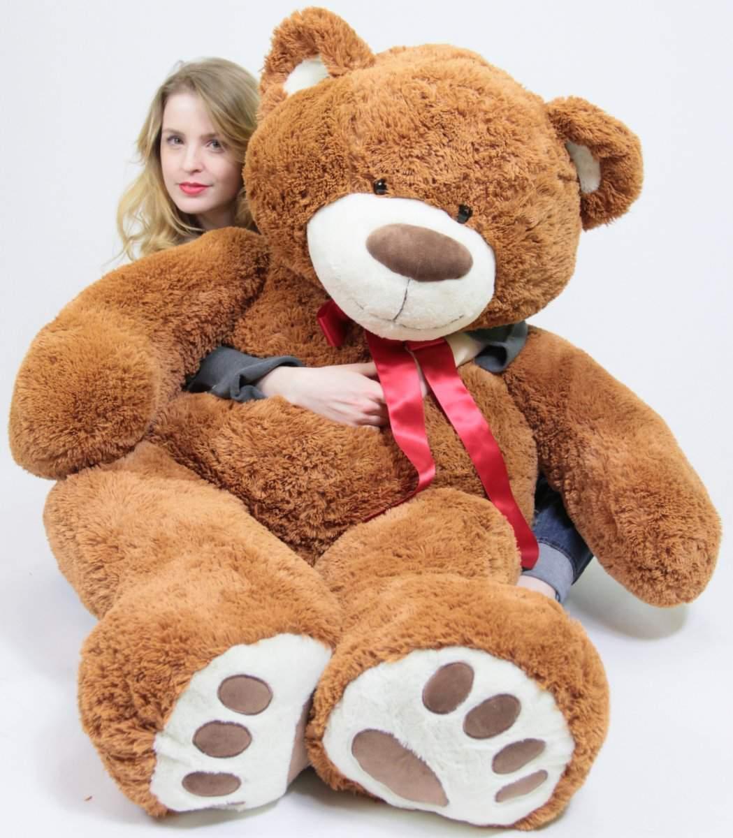 1.5m Sehr Groß Braun Teddybär Weich, 1.5m Groß Riese Plüschtier Bär Neu