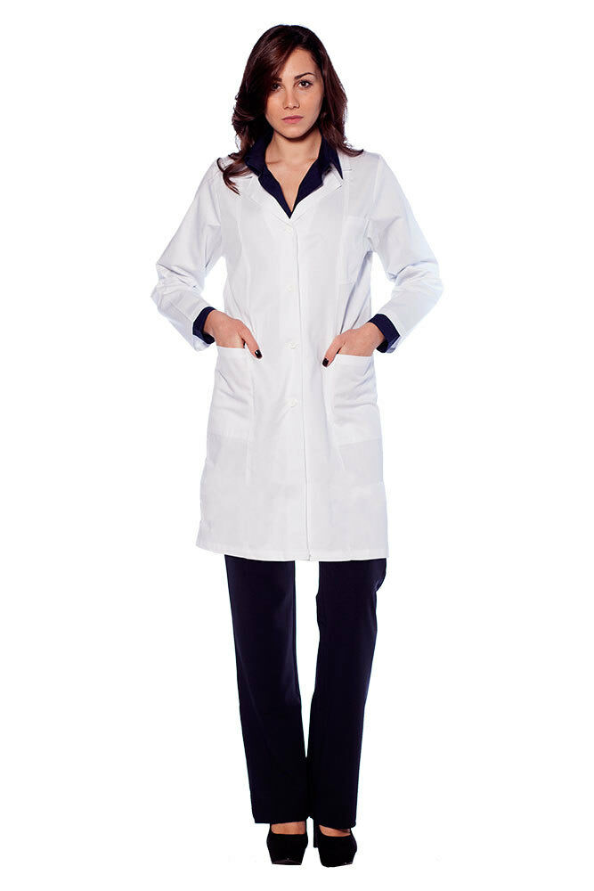 Medizinischen Kleid Frau Apotheker Dr Baumwolle sanitär Labor Arbeit Arbeit Arbeit    Adoptieren    Clearance Sale    In hohem Grade geschätzt und weit vertrautes herein und heraus  fdbd02