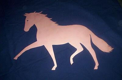 Pferd, Kupfer, Motiv, Wetterfahne, Deko, Geschenk, Wetterfahnen-knirsch