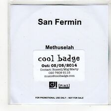 (FO432) San Fermin, Methuselah - 2014 DJ CD