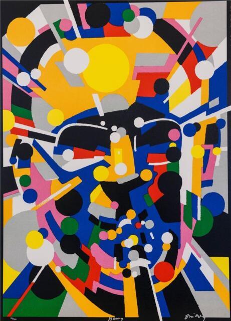 Waldemar Swierzy Hand Signed Benny Fine Art Lithograph Jazz Greats COA S2