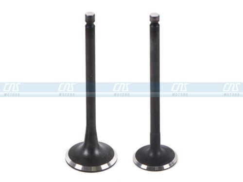 Intake Exhaust Valve Kit w// Valve Stem Seals Fits 93-02 Accent Scoupe 1.5L SOHC